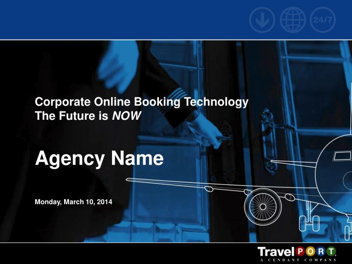 Corporate Online Booking Technology