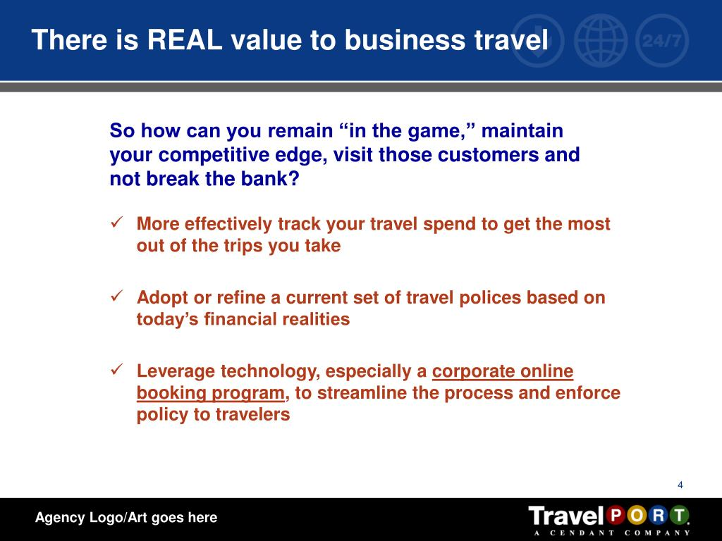 There is REAL value to business travel