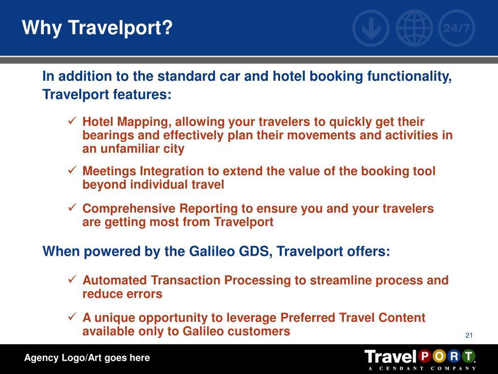 Why Travelport?