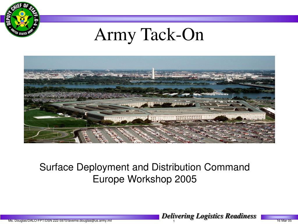 army tack on