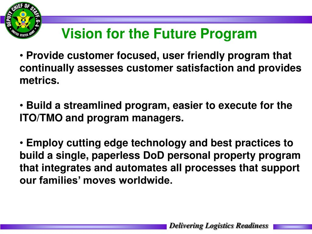 Vision for the Future Program