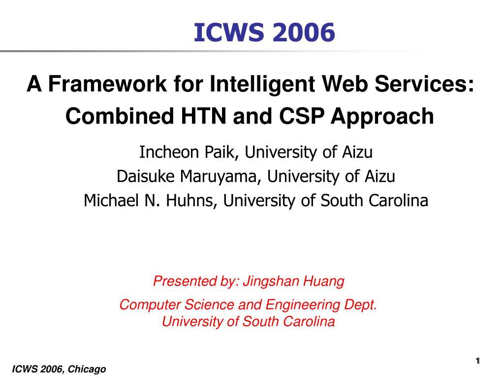 ICWS 2006