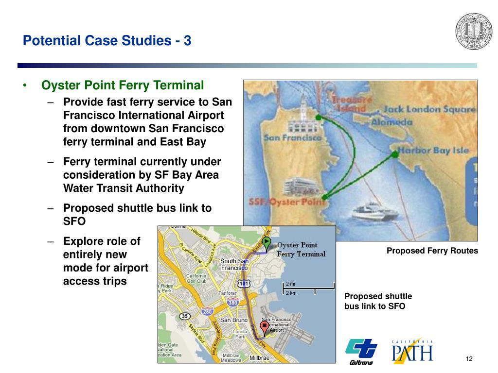 Potential Case Studies - 3
