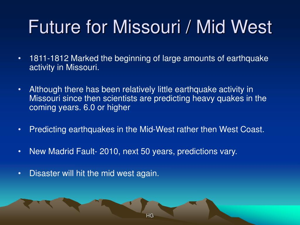 Future for Missouri / Mid West