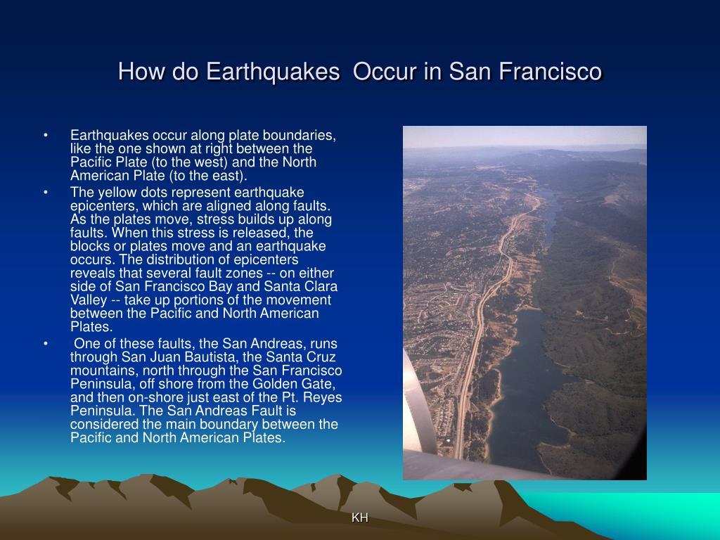 How do Earthquakes