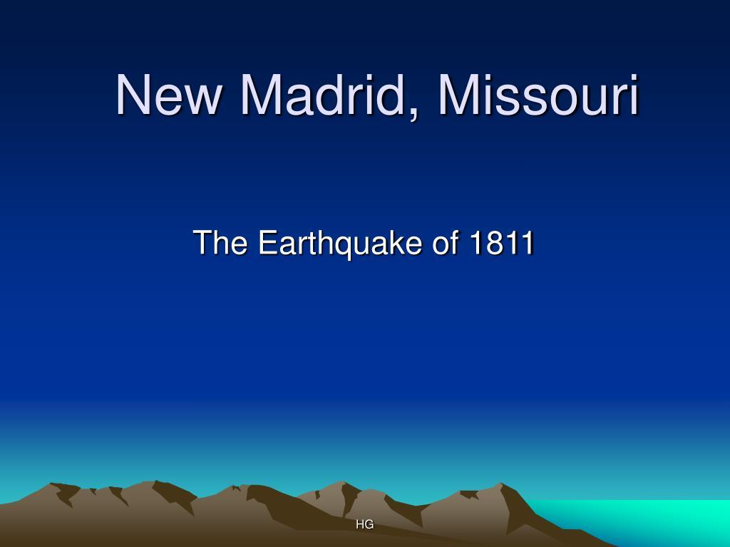 New Madrid, Missouri