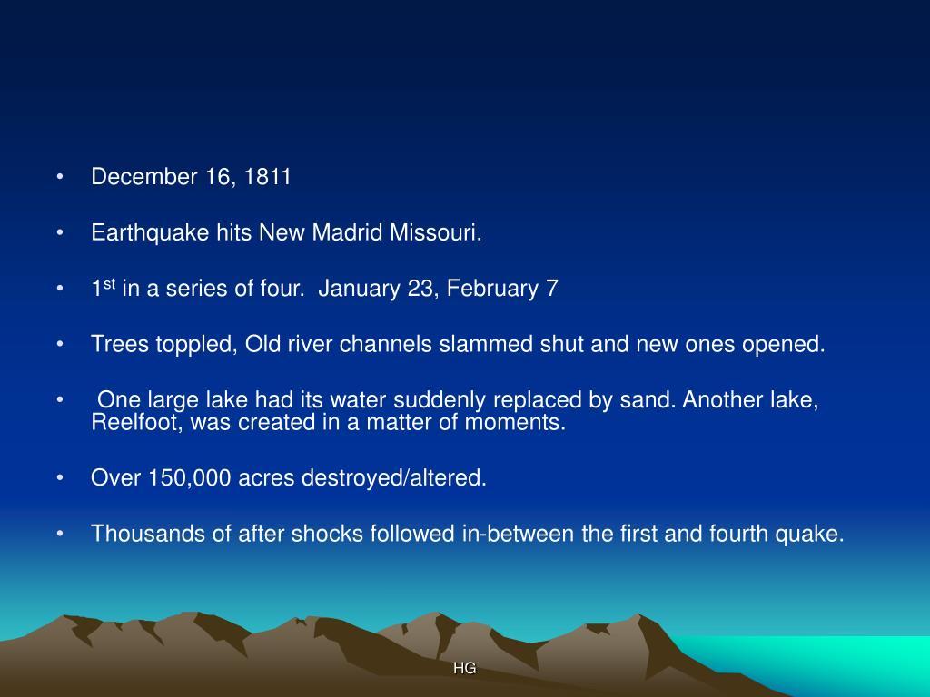 December 16, 1811