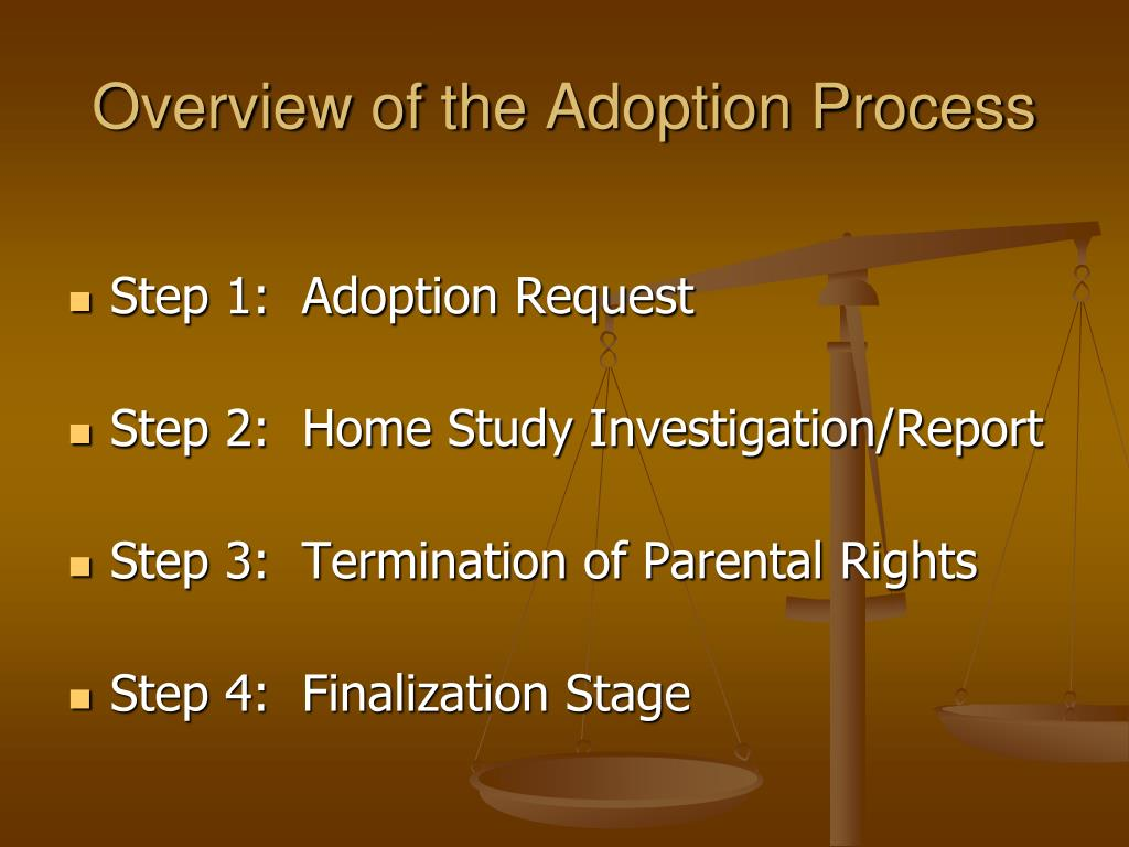 Overview of the Adoption Process