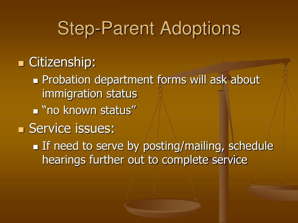 Step-Parent Adoptions