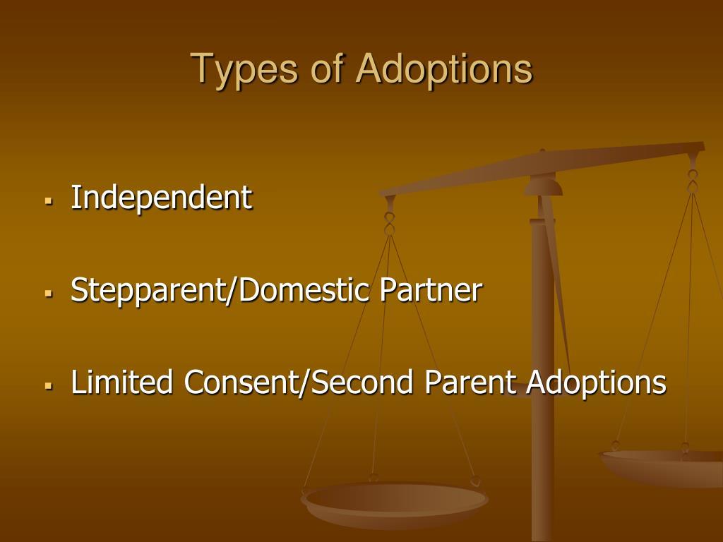 Types of Adoptions