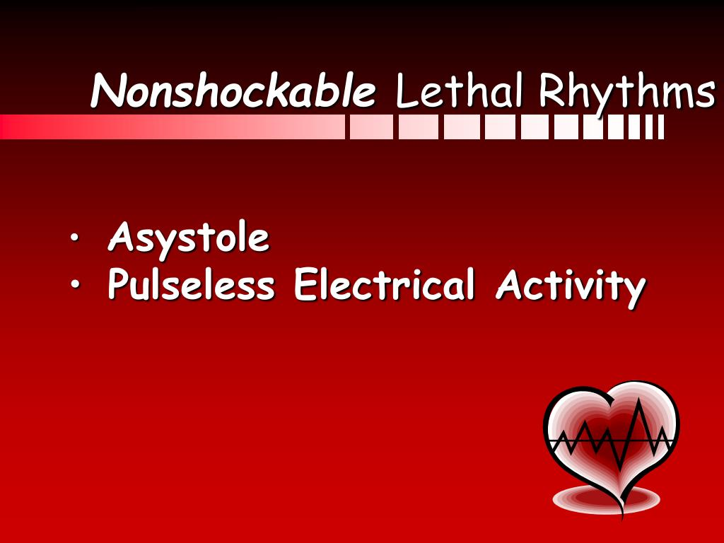 Nonshockable