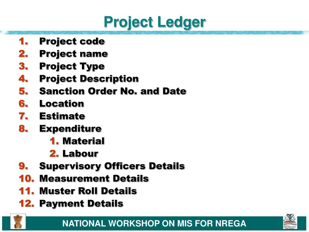 Project Ledger