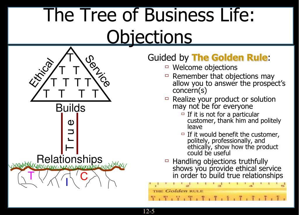 The Tree of Business Life: Objections