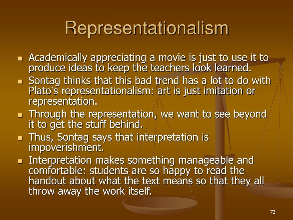 Representationalism