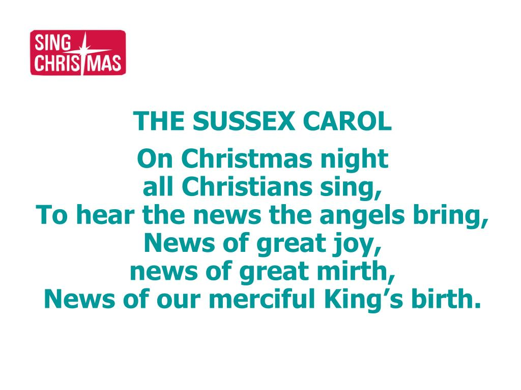 THE SUSSEX CAROL
