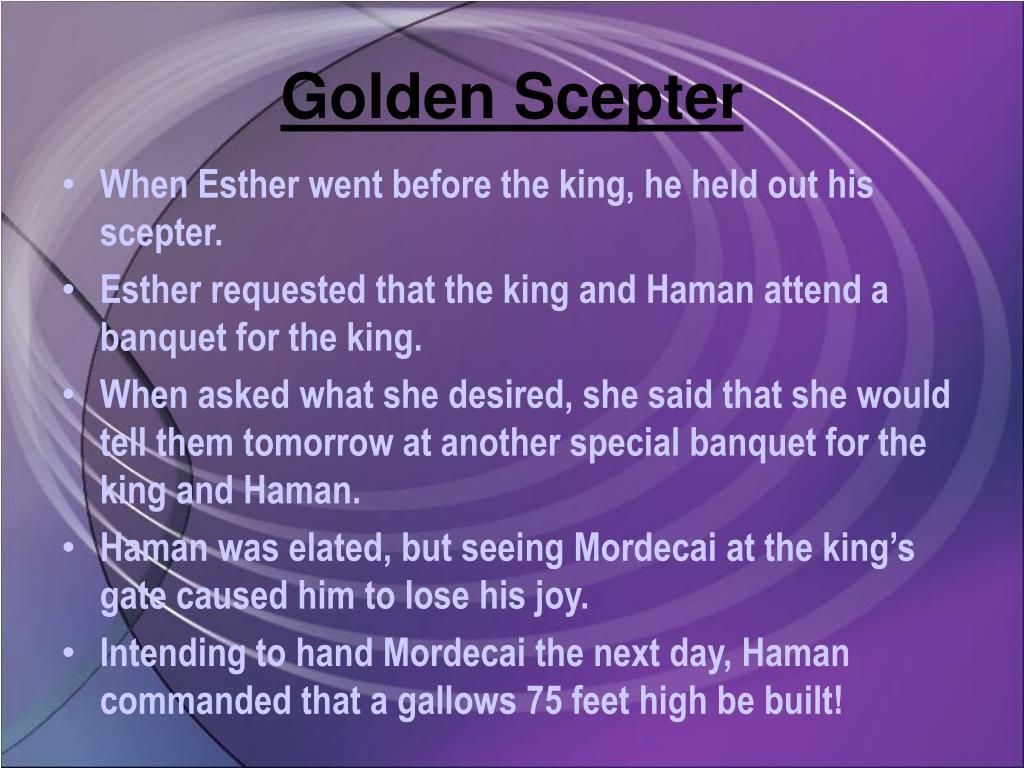 Golden Scepter