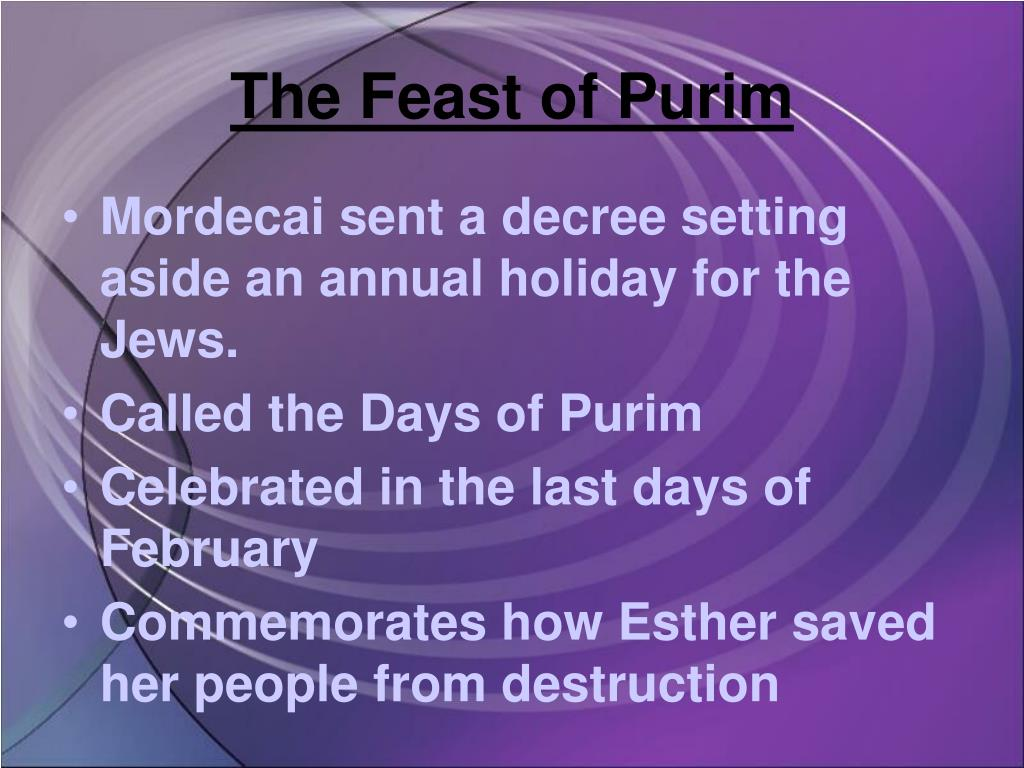 The Feast of Purim