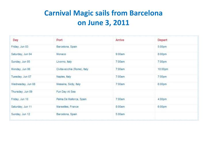 Carnival magic sails from barcelona on june 3 2011 l.jpg
