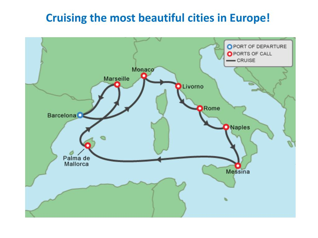 Cruising the most beautiful cities in Europe!