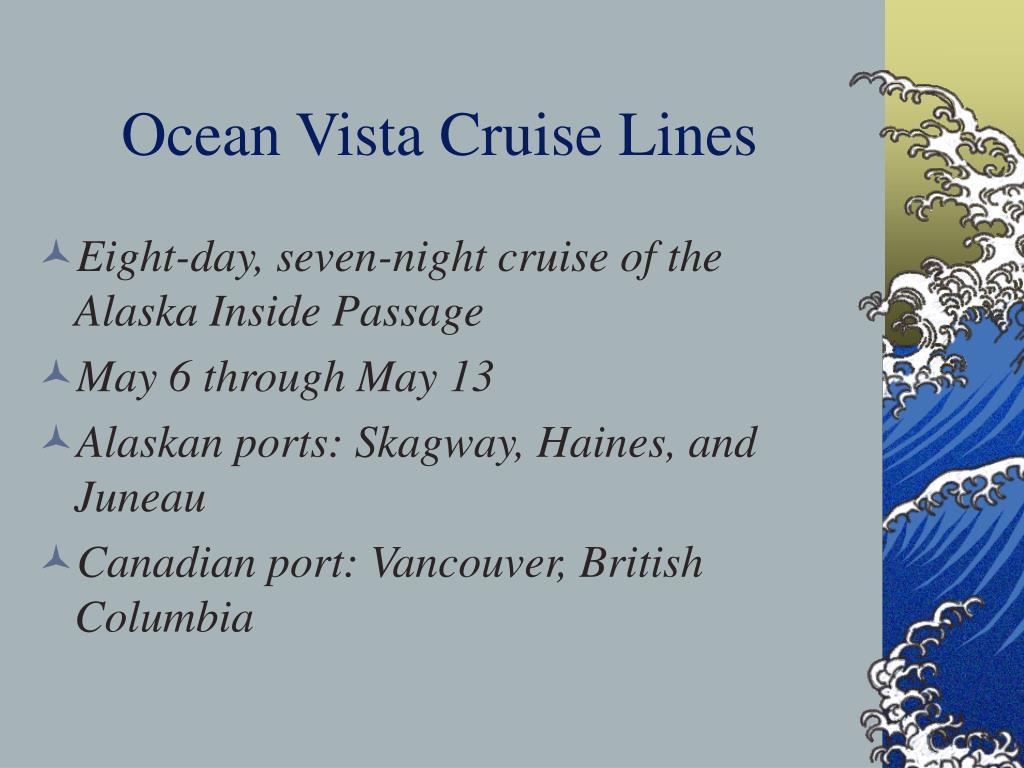 Ocean Vista Cruise Lines