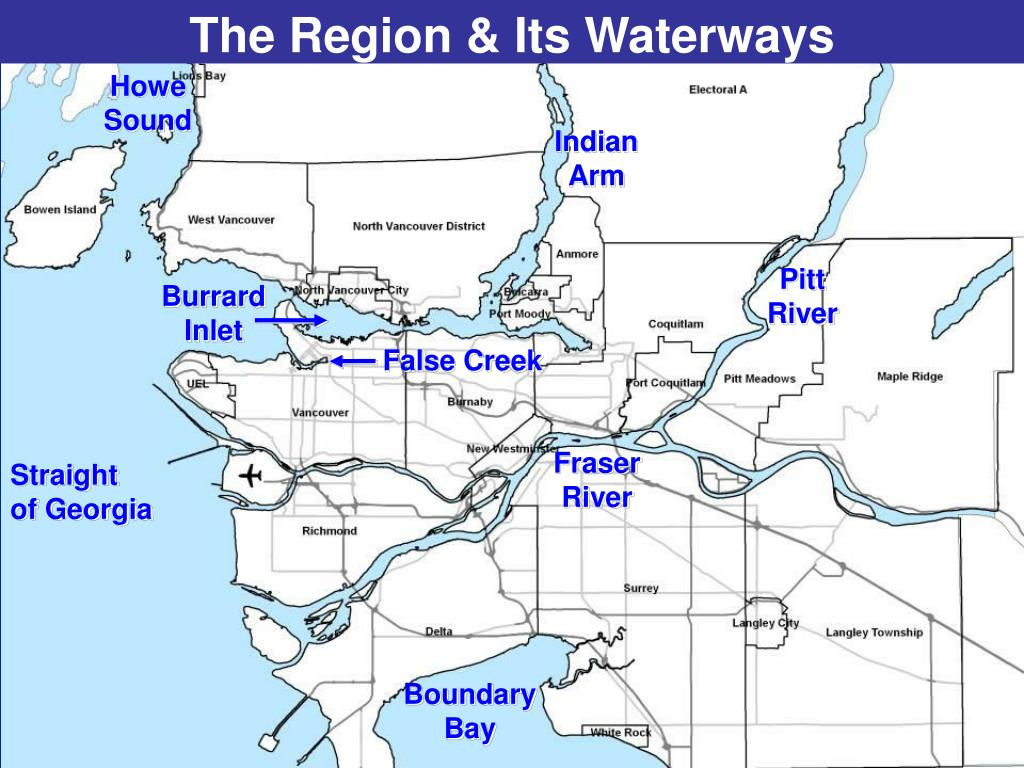 The Region & Its Waterways