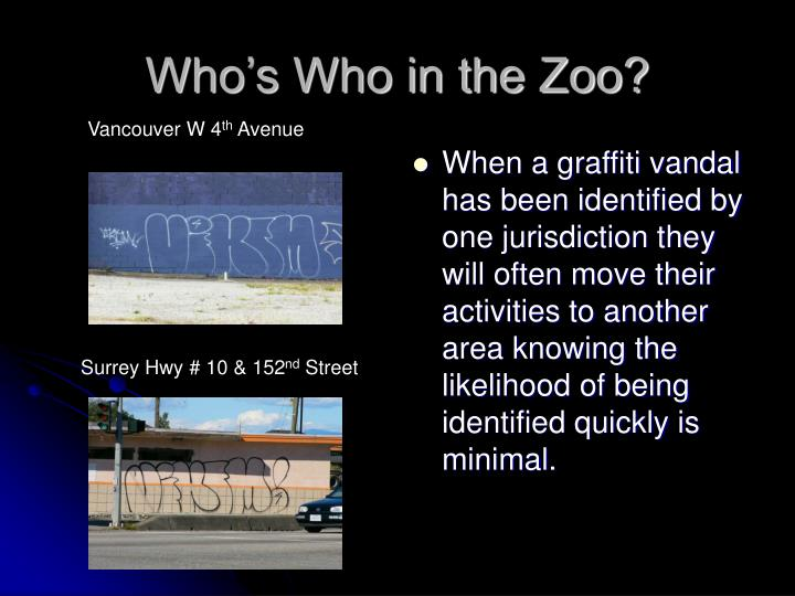 Who s who in the zoo3