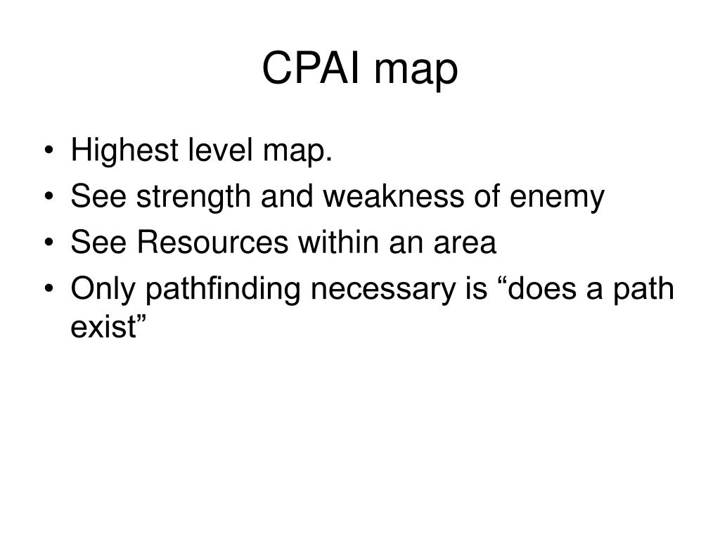 CPAI map