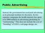 public advertising