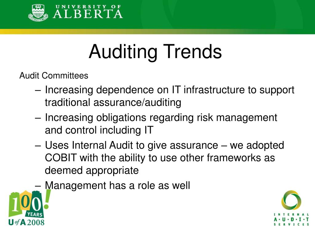 Auditing Trends