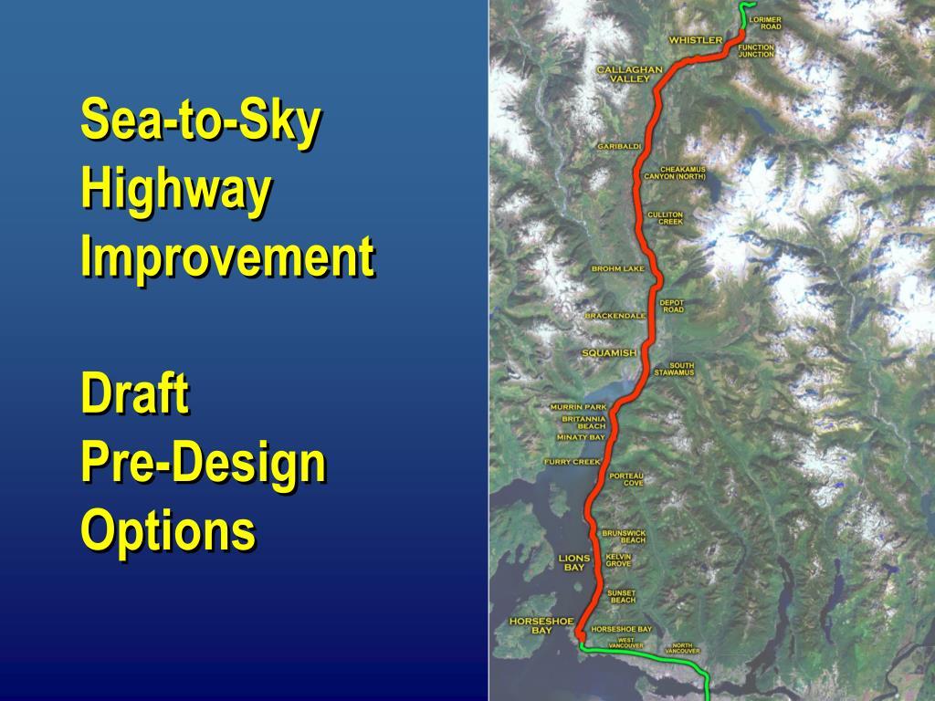 Sea-to-Sky Highway Improvement
