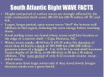 south atlantic bight wave facts