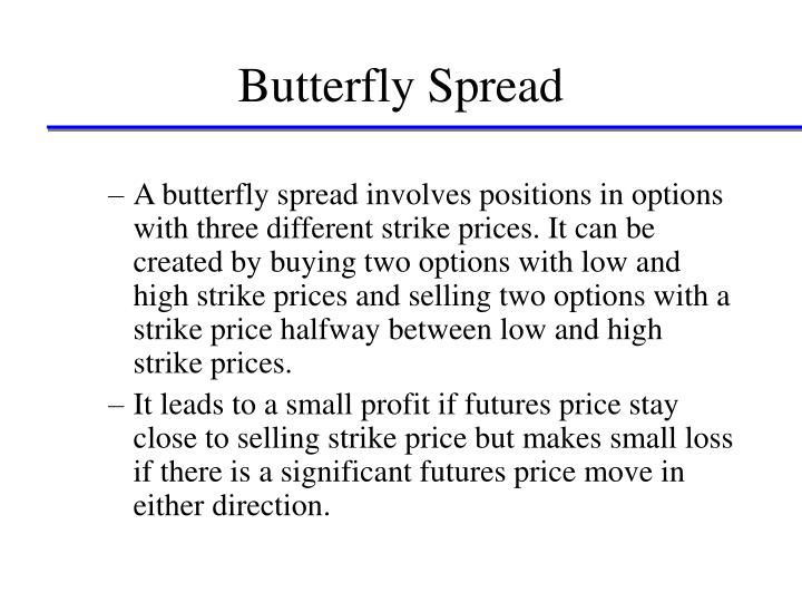 Trading strategies involving options(spread and combination)