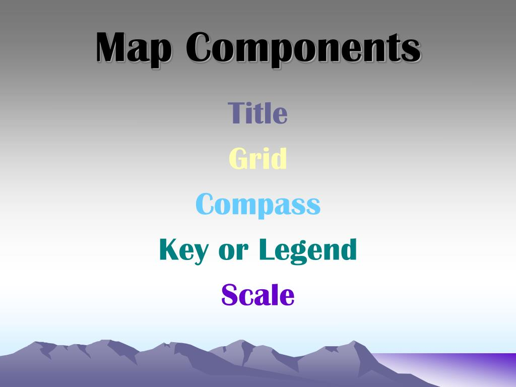 Map Components