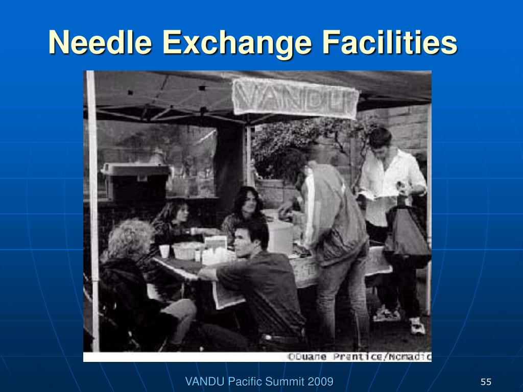 Needle Exchange Facilities