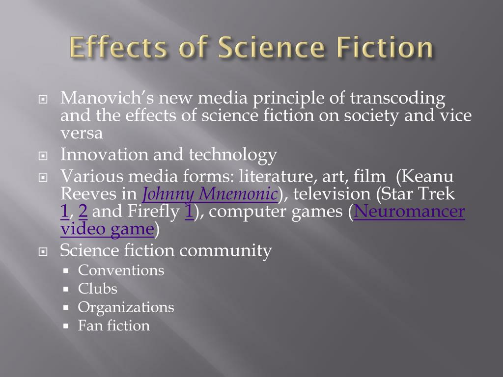 Effects of Science Fiction