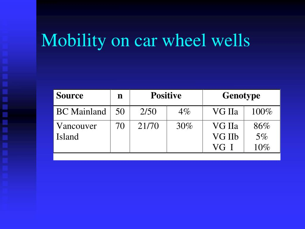 Mobility on car wheel wells