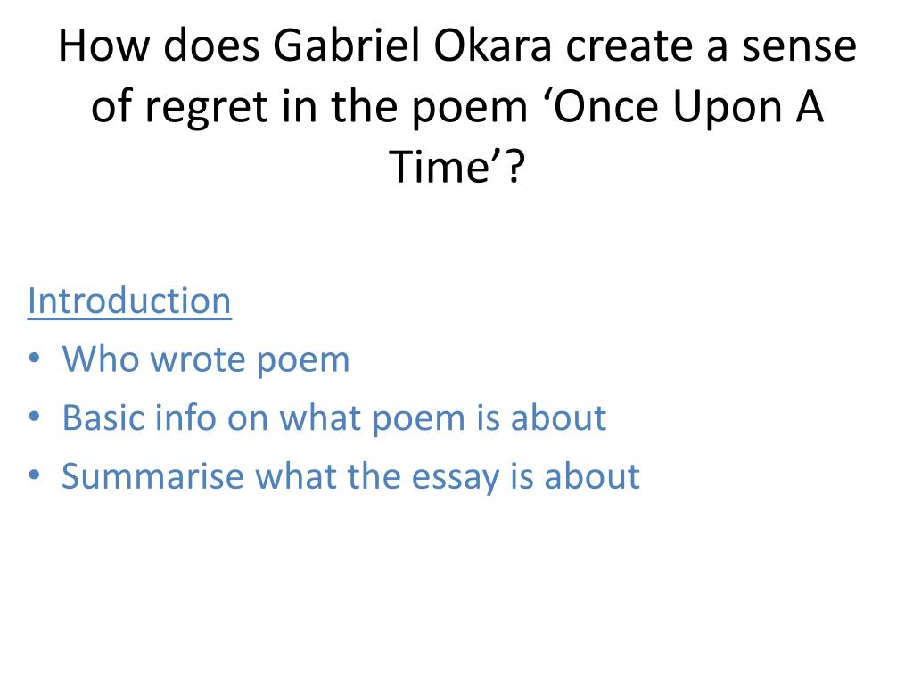 how to write a sense of time poem