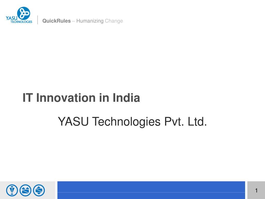 it innovation in india