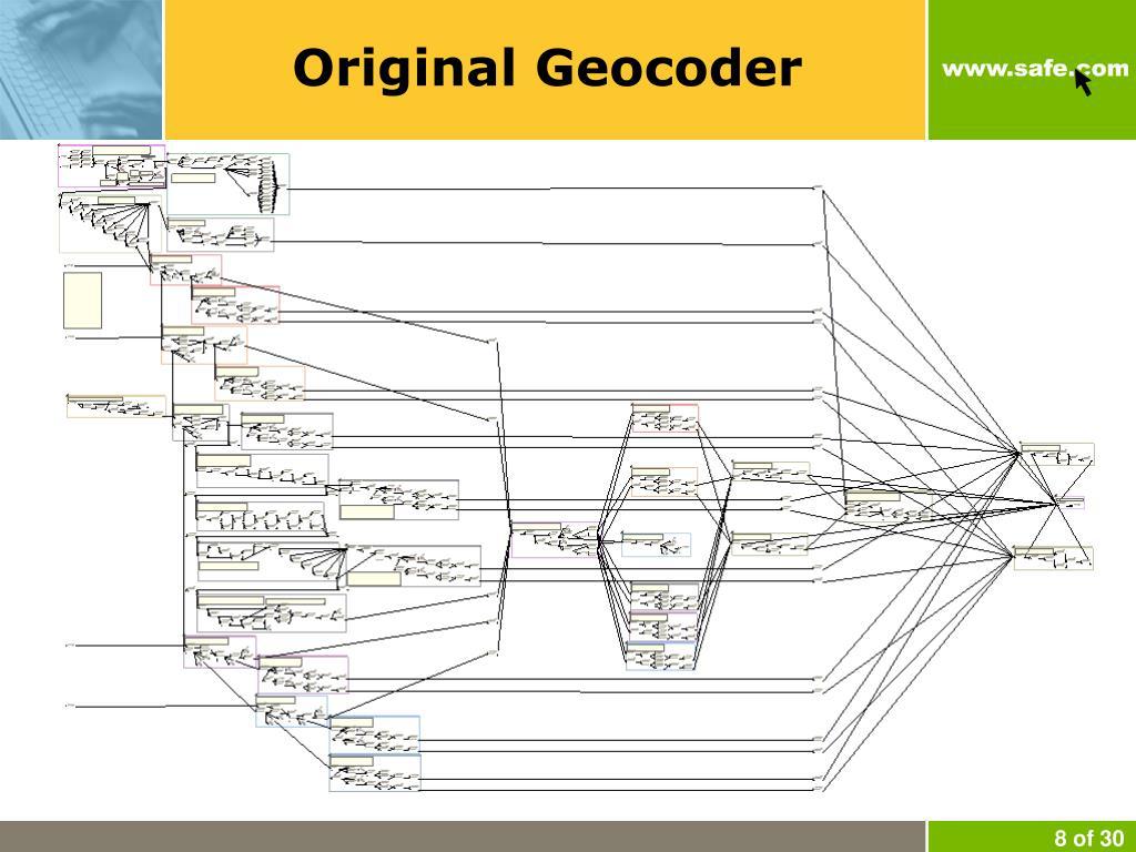 Original Geocoder
