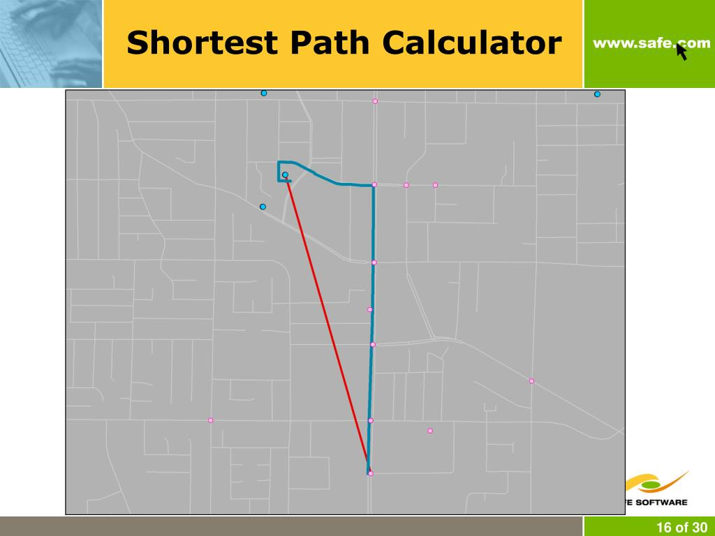 Shortest Path Calculator