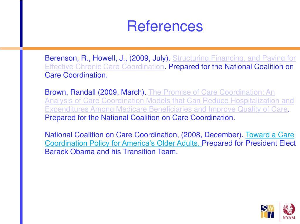 Berenson, R., Howell, J., (2009, July).