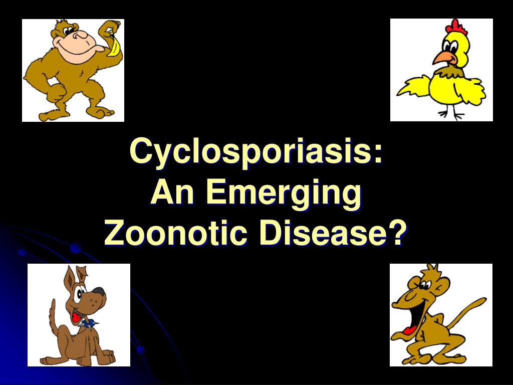 Cyclosporiasis: