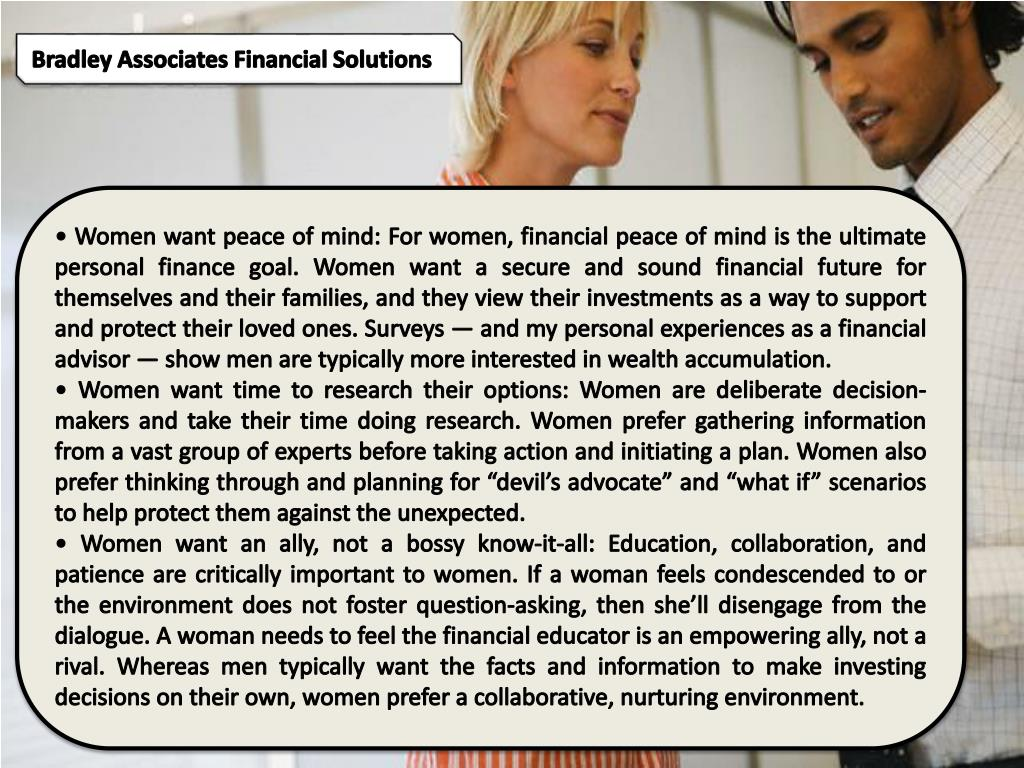 Bradley Associates Financial Solutions