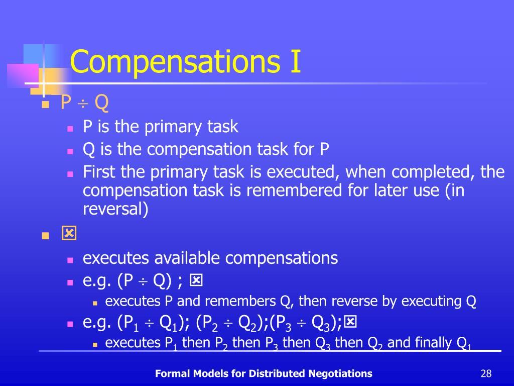 Compensations I