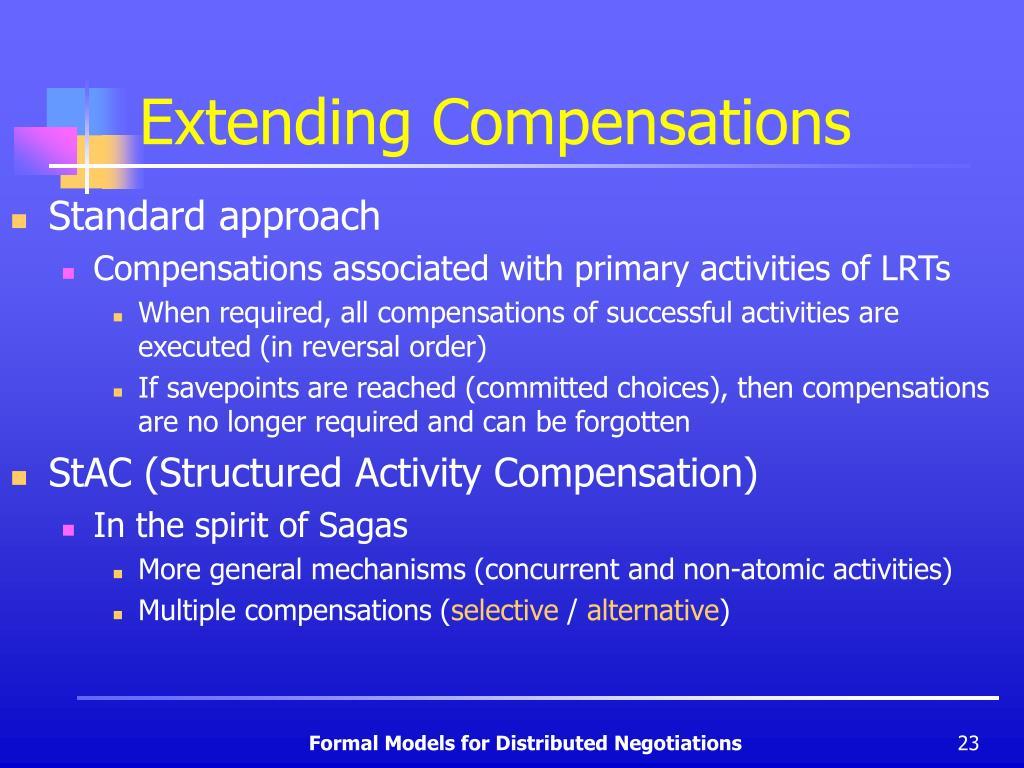 Extending Compensations
