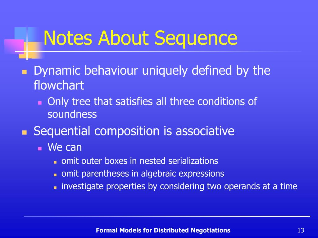 Notes About Sequence