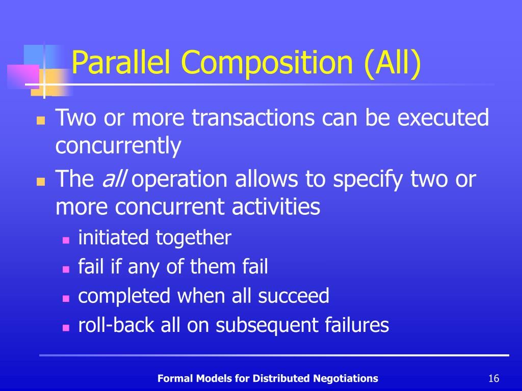 Parallel Composition (All)