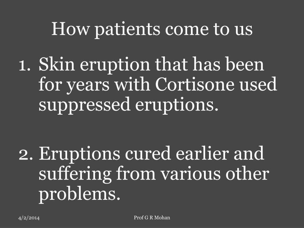 How patients come to us