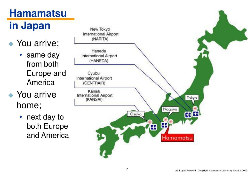Hamamatsu in Japan
