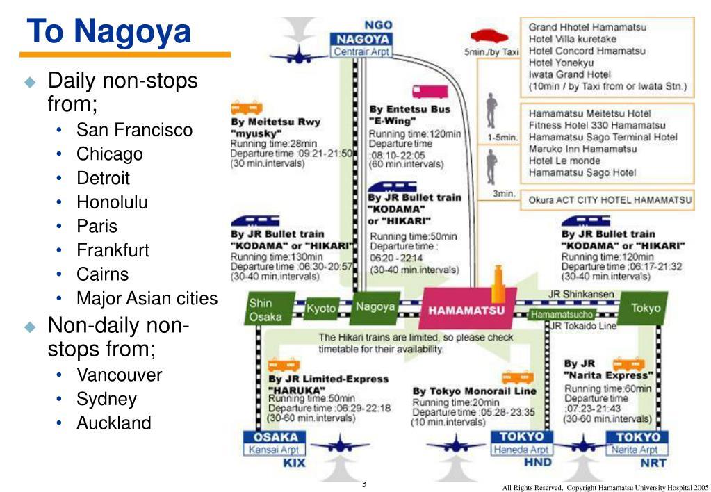 To Nagoya